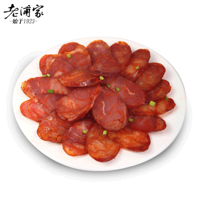老浦家麻辣川味纯肉香肠500g