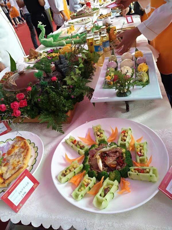 火腿烹饪大赛菜品展示