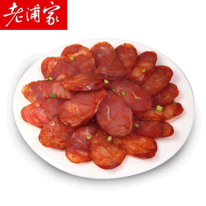 老浦家麻辣纯肉香肠500g