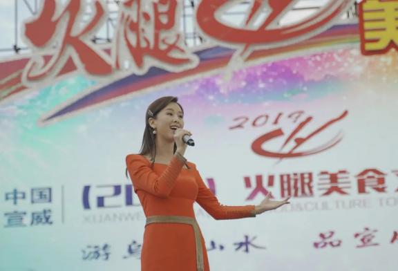宣威火腿美食节歌手表演