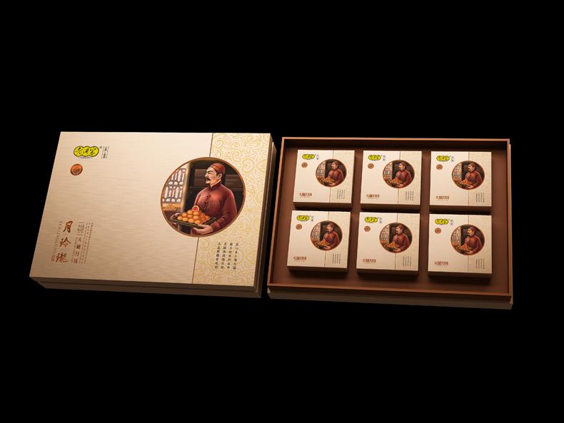 月玲珑中秋月饼礼盒